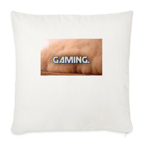 GamingDust LOGO - Sofa pillowcase 17,3'' x 17,3'' (45 x 45 cm)