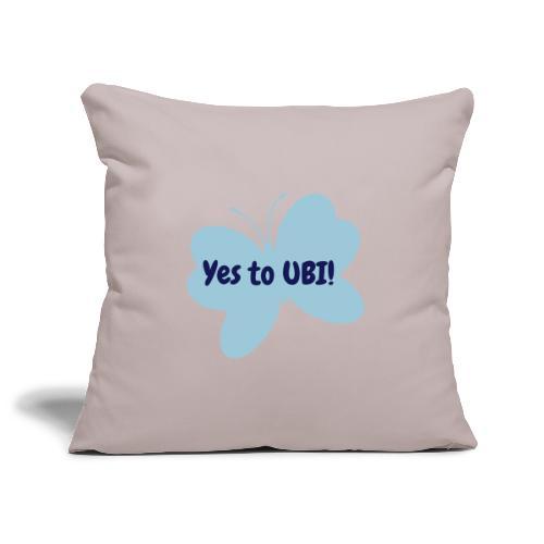 Free as a butterfly. - Sofa pillowcase 17,3'' x 17,3'' (45 x 45 cm)