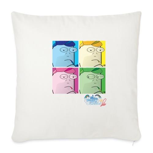 Commissario Warhol - Copricuscino per divano, 45 x 45 cm