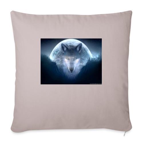 WolfMerch - Sofa pillowcase 17,3'' x 17,3'' (45 x 45 cm)