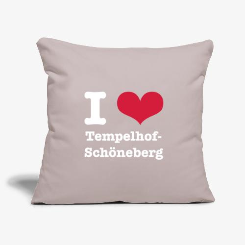 I love Tempelhof-Schöneberg - Sofakissenbezug 44 x 44 cm