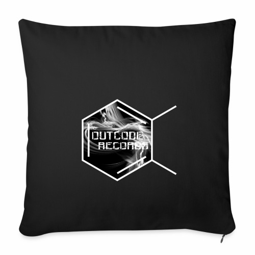 Outcode Records - Funda de cojín, 45 x 45 cm