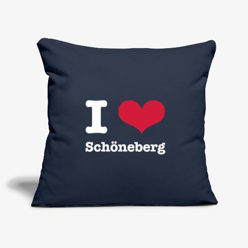 I love Schöneberg - Sofakissenbezug 44 x 44 cm