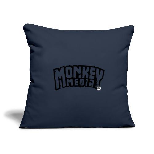 MonkeyMedia Wortlaut - Sofakissenbezug 44 x 44 cm