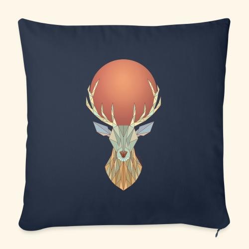 Roi Cerf Glacial - Housse de coussin décorative 45x 45cm
