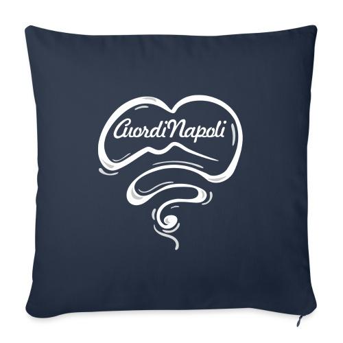 CuordiNapoli New Logo - Copricuscino per divano, 45 x 45 cm