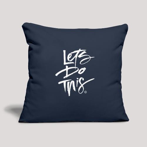 LDT Clear MASTER WHITE - Sofa pillowcase 17,3'' x 17,3'' (45 x 45 cm)