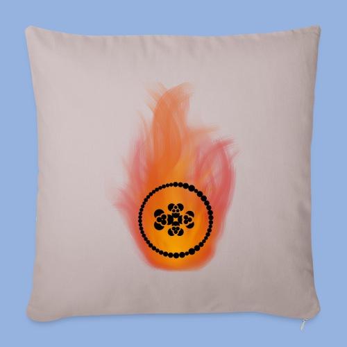 Smell like teen spirit Fire - Housse de coussin décorative 45x 45cm