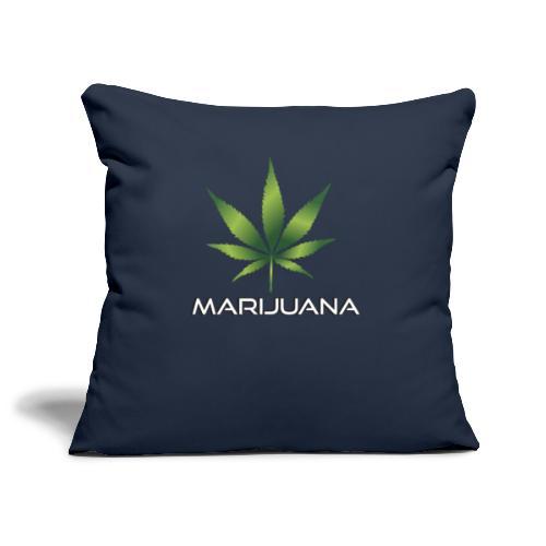 Marijuana - Sofakissenbezug 44 x 44 cm