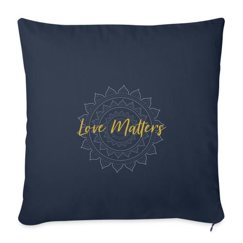 Love Matters mandala gold - Sofakissenbezug 44 x 44 cm