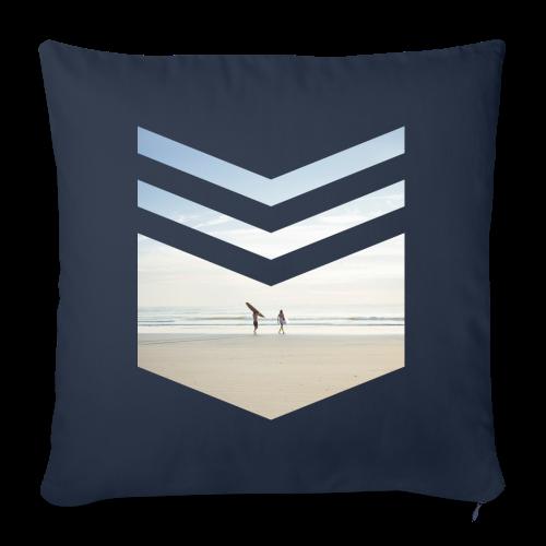 Surf Beach Triangle - Sofakissenbezug 44 x 44 cm
