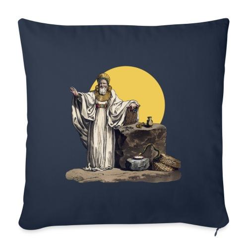 Druido (Sole Luna) - Copricuscino per divano, 45 x 45 cm