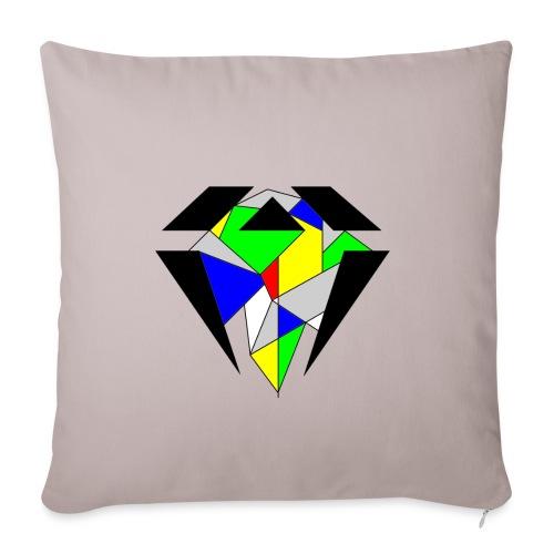 J.O.B. Diamant Colour - Sofakissenbezug 44 x 44 cm