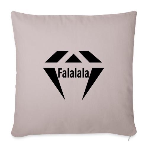 J.O.B Diamant Falalala - Sofakissenbezug 44 x 44 cm