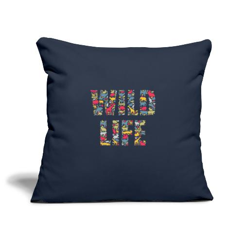 Wild Life - Sofakissenbezug 44 x 44 cm