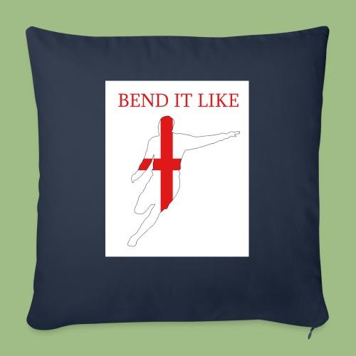 Bend It Like DavidBeckham - Soffkuddsöverdrag, 45 x 45 cm