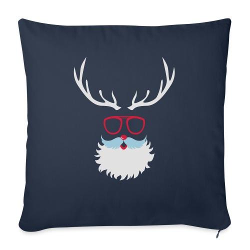 Santa Clauss Eye glasses - Housse de coussin décorative 45x 45cm