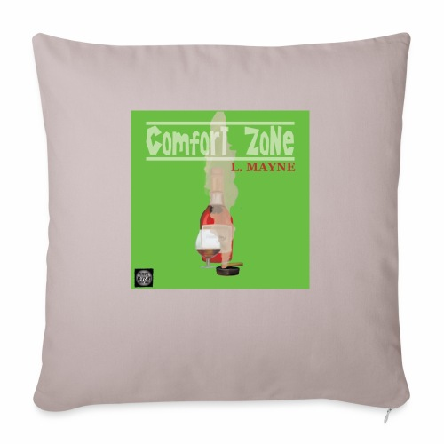comfort zone the LP - Sofa pillowcase 17,3'' x 17,3'' (45 x 45 cm)