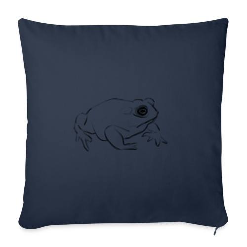 Frog - Sofa pillowcase 17,3'' x 17,3'' (45 x 45 cm)