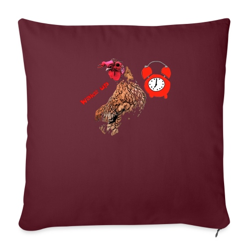 Wake up, the cock crows - Sofa pillowcase 17,3'' x 17,3'' (45 x 45 cm)