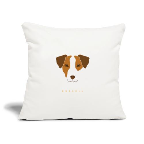 Jack Russell - Copricuscino per divano, 45 x 45 cm