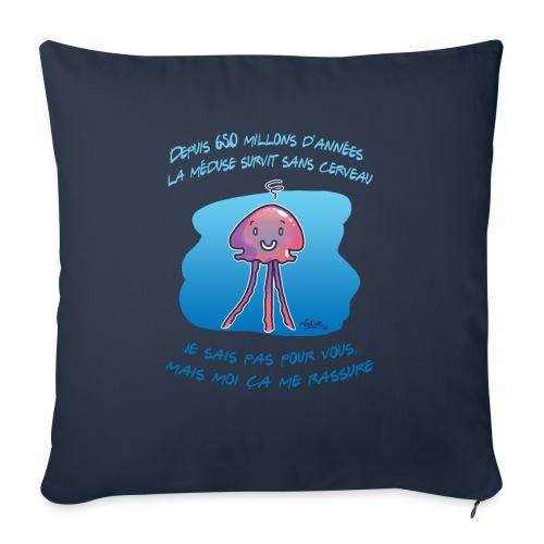 Meduse - Housse de coussin décorative 45x 45cm