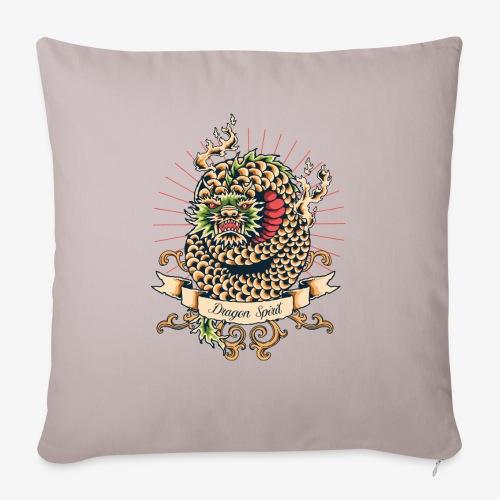 Esprit de dragon - Housse de coussin décorative 45x 45cm