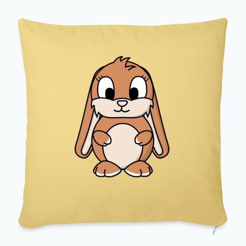 Lily Bunny - Appelsin - Soffkuddsöverdrag, 45 x 45 cm