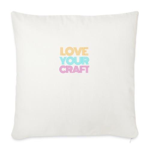 Love your craft - Copricuscino per divano, 45 x 45 cm