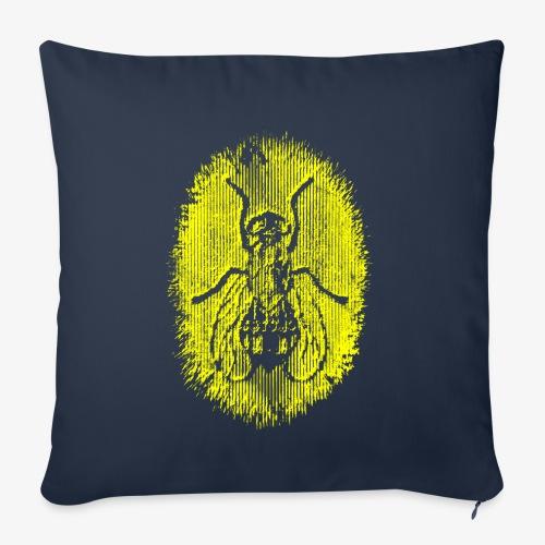 Fluga Yellow - Soffkuddsöverdrag, 45 x 45 cm