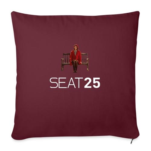 Faye on Logo - Sofa pillowcase 17,3'' x 17,3'' (45 x 45 cm)