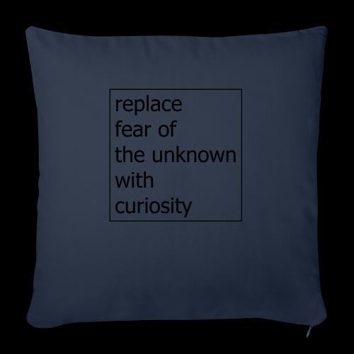 no fear - Copricuscino per divano, 45 x 45 cm