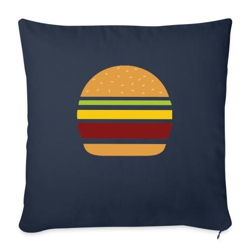 Logo Burger Panhamburger - Housse de coussin décorative 45x 45cm