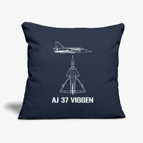 AJ 37 VIGGEN - Soffkuddsöverdrag, 45 x 45 cm