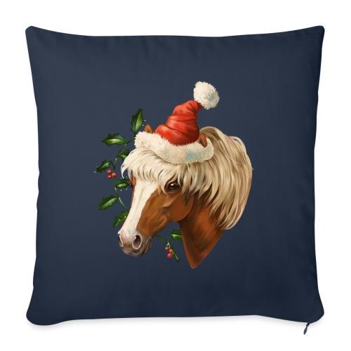 Christmas Pony - Sofakissenbezug 44 x 44 cm