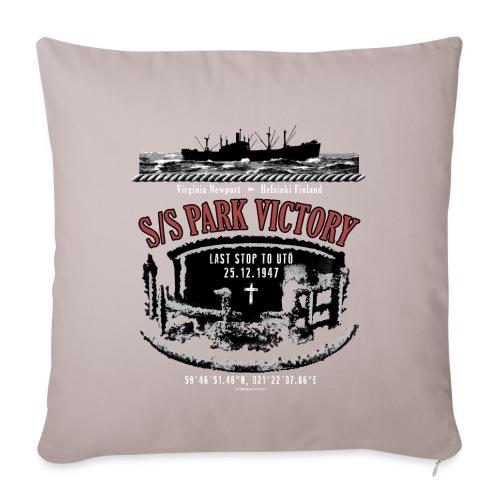 PARK VICTORY LAIVA - Tekstiilit ja lahjatuotteet - Sohvatyynyn päällinen 45 x 45 cm