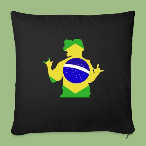 Ronaldinho Brazil - Soffkuddsöverdrag, 45 x 45 cm