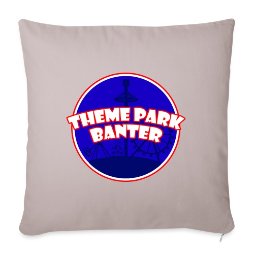 theme park banter logo - Sofa pillowcase 17,3'' x 17,3'' (45 x 45 cm)