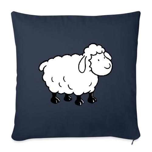 mouton - Housse de coussin décorative 45x 45cm