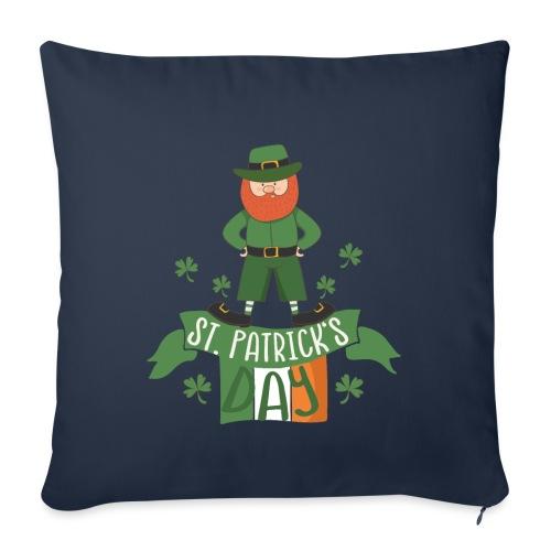 St. Patrick's day feiern mit Glücksbringer - Sofa pillowcase 17,3'' x 17,3'' (45 x 45 cm)