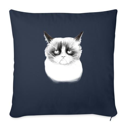 Grumpy Cat - Sofa pillowcase 17,3'' x 17,3'' (45 x 45 cm)