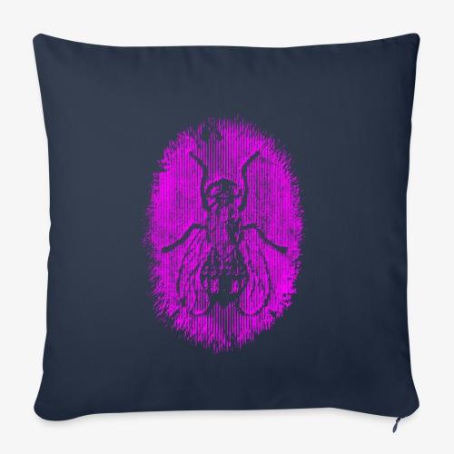Fluga Purple - Soffkuddsöverdrag, 45 x 45 cm