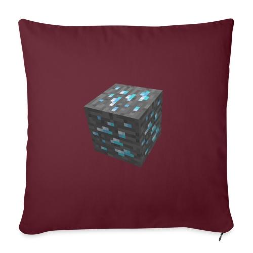 BLOCK DE DIAMANT MINECRAFT - Housse de coussin décorative 45x 45cm