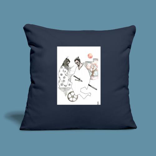 Samurai copia jpg - Copricuscino per divano, 45 x 45 cm