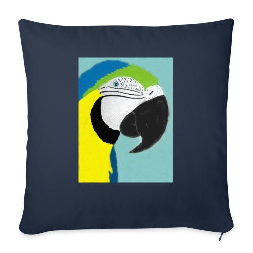 Parrot, new - Sohvatyynyn päällinen 45 x 45 cm