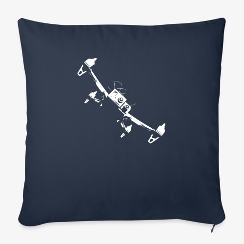 quadflyby2 - Sofa pillowcase 17,3'' x 17,3'' (45 x 45 cm)
