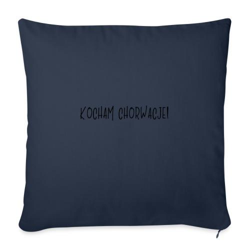 Kocham Chorwacje - Poszewka na poduszkę 45 x 45 cm