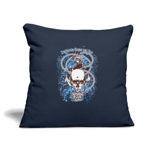 Skull Anker Design Art - Sofakissenbezug 44 x 44 cm