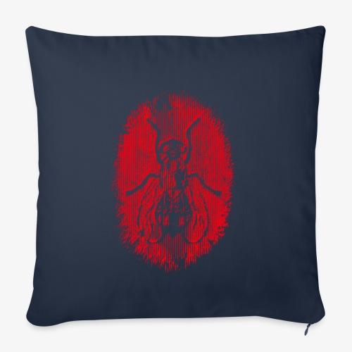 Fluga Red - Soffkuddsöverdrag, 45 x 45 cm
