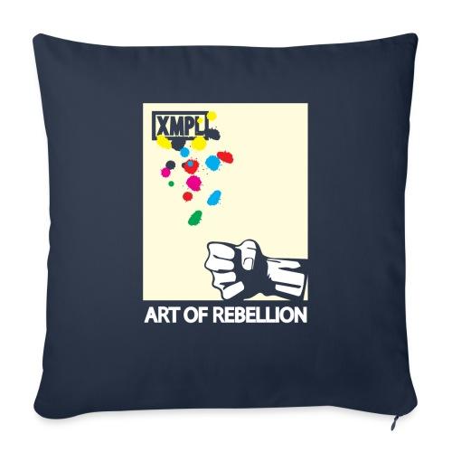 artOFrebellion - Copricuscino per divano, 45 x 45 cm